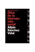 Papel ETICA DE LA INTERVENCION SOCIAL