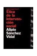 Papel ETICA DE LA INTERVENCION SOCIAL (TRABAJO SOCIAL 69007)