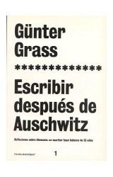 Papel ESCRIBIR DESPUES DE AUSCHWITZ REFLEXIONES SOBRE ALEMANIA (ASTERISCO 73201)