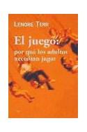Papel JUEGO POR QUE LOS ADULTOS NECESITAN JUGAR (PAIDOS CONTEXTOS 52047)