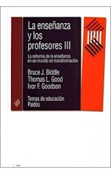 Papel LA ENSEÑANZA Y LOS PROFESORES III