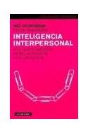 Papel INTELIGENCIA INTERPERSONAL UNA NUEVA MANERA DE RELACIONARSE CON LOS DEMAS (PAIDOS PLURAL 47128)