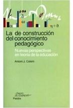 Papel LA DE CONSTRUCCION DEL CONOCIMIENTO PEDAGOGICO