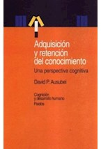 Papel ADQUISICION Y RETENCION DEL CONOCIMIENTO