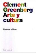 Papel ARTE Y CULTURA ENSAYOS CRITICOS (ESTETICA 35032)