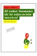 Papel VALOR HUMANO DE LA EDUCACION MUSICAL (EDUCADOR 26166)