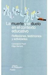 Papel LA MUERTE Y EL DUELO EN EL CONTEXTO EDUCATIVO