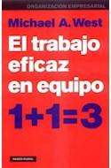 Papel TRABAJO EFICAZ EN EQUIPO (PAIDOS PLURAL 47140)