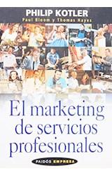 Papel EL MARKETING DE SERVICIOS PROFESIONALES
