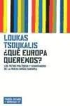 Papel Que Europa Queremos ?. Retos Politicos Y Economicos De La Nu