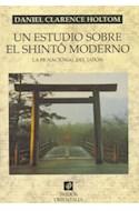 Papel UN ESTUDIO SOBRE EL SHINTO MODERNO LA FE NACIONAL DEL JAPON (ORIENTALIA 42086)