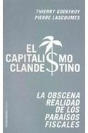 Papel CAPITALISMO CLANDESTINO LA OBSCENA REALIDAD DE LOS PARAISOS FISCALES (PAIDOS CONTROVERSIAS 60409)