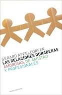 Papel RELACIONES DURADERAS AMOROSAS DE AMISTAD Y PROFESIONALES (CONTEXTOS 52099)