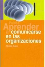 Papel APRENDER A COMUNICARSE EN LAS ORGANIZACIONES