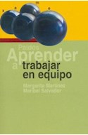 Papel APRENDER A TRABAJAR EN EQUIPO (APRENDER 59620)