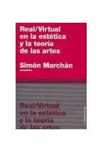 Papel REAL / VIRTUAL EN LA ESTETICA Y LA TEORIA DE LAS ARTES