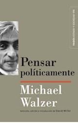 Papel PENSAR POLITICAMENTE (ESTADO Y SOCIEDAD 45174)