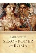 Papel SEXO Y PODER EN ROMA [PROLOGO DE LUCIEN JERPHAGNON] (PAIDOS ORIGENES 9000043)