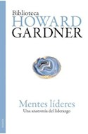 Papel MENTES LIDERES UNA ANATOMIA DEL LIDERAZGO (BIBLIOTECA HOWARD GARDNER 1210)