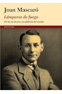 Papel LAMPARAS DE FUEGO DE LAS ESCRITURAS Y LA SABIDURIA DEL MUNDO (ORIENTALIA 10007453)