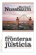 Papel FRONTERAS DE LA JUSTICIA CONSIDERACIONES SOBRE LA EXCLUSION (ESTADO Y SOCIEDAD 10054)