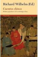 Papel CUENTOS CHINOS RELATOS POPULARES DE LA MITOLOGIA CHINA (COLECCION ORIENTALIA 10856)