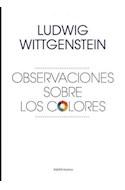 Papel OBSERVACIONES SOBRE LOS COLORES (ESTETICA 10015614)