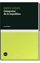 Papel CATEGORIAS DE LO IMPOLITICO