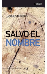 Papel SALVO EL NOMBRE (SERIE NOMADAS)