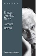 Papel TOCAR JEAN LUC NANCY (SERIE FILOSOFIA)