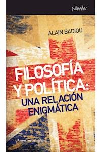 papel Filosofía y política: una relación enigmática