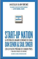 Papel START UP NATION LA HISTORIA DEL MILAGRO ECONOMICO DE ISRAEL (EDICION LATINOAMERICA)