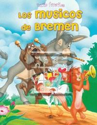 Papel Musicos De Bremen, Los - Puzzles Favoritos