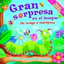 Papel Gran Sorpresa En El Bosque - De Oruga A Mariposa