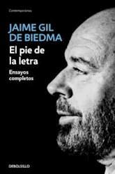 Libro El Pie De La Letra