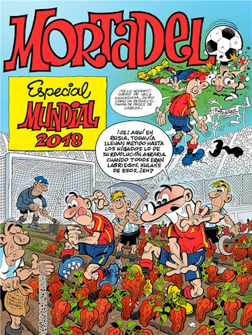 E-book Especial Mundial 2018 (Números Especiales Mortadelo Y Filemón)