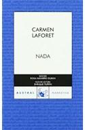 Papel NADA (COLECCION NARRATIVA 572) (BOLSILLO)