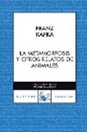 Papel METAMORFOSIS Y OTROS RELATOS DE ANIMALES (SERIE NARRATIVA)