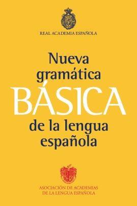 Papel Nueva Gramatica Basica De La Lengua Española