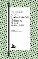 Papel FUNDAMENTACION DE LA METAFISICA DE LAS COSTUMBRES (COLECCION HUMANIDADES 140)