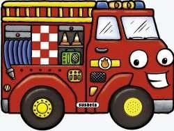 Libro Camion De Bomberos . Motores Ruidosos