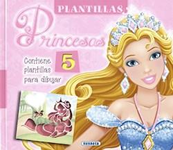 Libro Plantillas De Princesas Contiene 5 Plantillas Para Dibujar