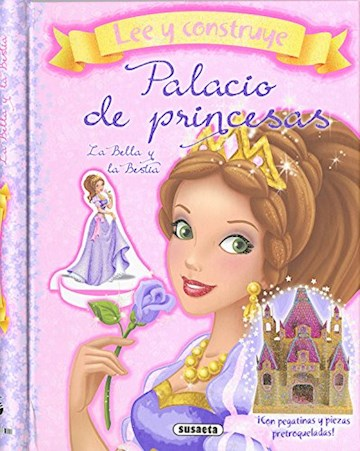 Papel Palacio De Princesa: La Bella Y La Bestia