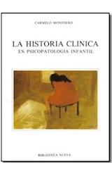 Papel HISTORIA CLINICA EN PSICOPAT.INFANTIL