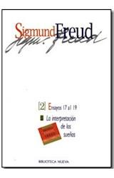 Papel SIGMUND FREUD 2 (ENSAYOS DEL 17 AL 19) INTERPRETACION DE LOS
