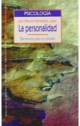 Papel PERSONALIDAD, LA (ELEMENTOS PARA SU ESTUDIO)