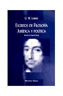 Papel ESCRITOS DE FILOSOFIA JURIDICA Y POLITICA (RUSTICO)
