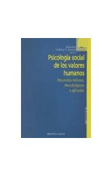 Papel PSICOLOGIA SOCIAL DE LOS VALORES HUMANOS
