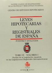 Libro 6 - 1 Leyes Hipotecarias Y Registrales De España