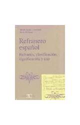 Papel REFRANERO ESPAÑOL REFRANES, CLASIFICACION, SIGNIFICACION Y U